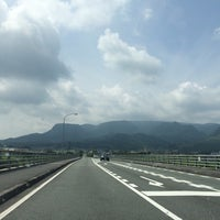 Photo taken at メルヘン大橋 by 222 on 8/14/2015