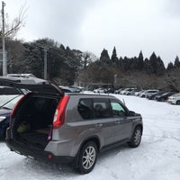 Photo taken at 英彦山 別所駐車場 by 222 on 1/27/2018