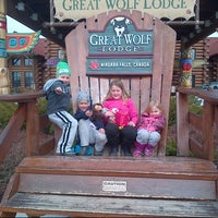 Photo taken at Great Wolf Niagara by Mike v. on 3/24/2013