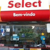 Photo taken at Posto Nova Era (Shell) by Ana P. on 10/31/2012