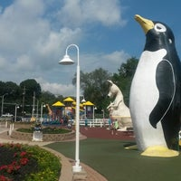 Photo taken at Penguin Park by Shane S. on 8/3/2013
