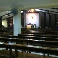 Photo taken at Gereja Santa Anna by Angel P. on 3/2/2013