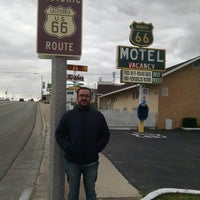 Photo taken at Route 66 Motel by Cleiver C. on 12/17/2014