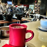 Photo taken at Sola Coffee Café by Pam ☕️ O. on 1/19/2013