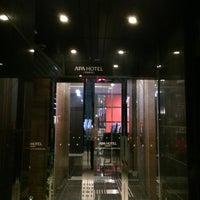 Photo taken at APA Hotel Tsukiji Ekiminami by Tetsuo F. on 5/15/2014