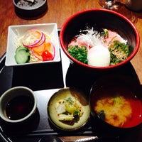 Photo taken at 銀座TSUBAKI by Yuusuke M. on 4/30/2015