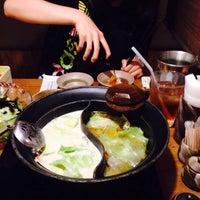 Photo taken at しゃぶしゃぶ温野菜 センター北店 by Yuusuke M. on 6/12/2015