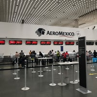 Photo taken at Sky Priority Check In Aeromexico by Jeremy N. on 7/1/2017