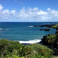 Photo taken at Black Sand Beach by Mike W. on 10/11/2012