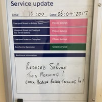 Photo taken at London Fields Overground Station (LOF) by Anna W. on 4/6/2017