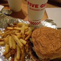 Photo taken at Five Guys by Anthony S. on 9/19/2014