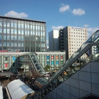 Photo taken at Yodobashi Camera by Tsuyoshi_OLD on 4/13/2013