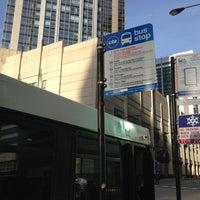 Photo taken at CTA Bus Stop 589 by Ziqi D. on 5/7/2013