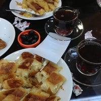 Photo taken at Esinci Börek by Yiğit Can C. on 11/20/2012