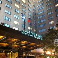 Photo taken at Sheraton Grande Taipei Hotel by yu j. on 12/8/2012