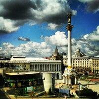 Снимок сделан в Майдан Незалежности пользователем Ilya S. 7/17/2013