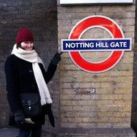 notting hill gate station stop d. Black Bedroom Furniture Sets. Home Design Ideas