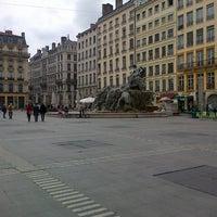 Photo taken at Place des Terreaux by Cindy D. on 4/21/2013