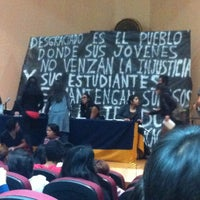 Photo taken at Auditorio Alberto Barajas by Jonás C. on 10/24/2014