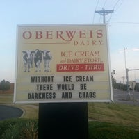 Photo taken at Oberweis Dairy by Dave P. on 9/2/2013