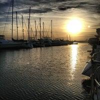 Photo taken at Charleston Harbor Resort & Marina by Jeni B. on 10/14/2012