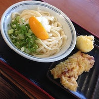 Photo taken at いきいきうどん善通寺店 by みむか み. on 1/31/2014