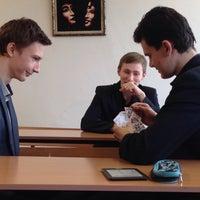 Photo taken at Гимназия № 159 «Бестужевская» by Лариса Ч. on 4/22/2016