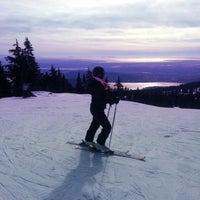 Photo taken at Seymour Mountain by Esteban C. on 2/10/2014