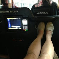 Photo taken at Nissan Taxi of Tomorrow by Jessica L. on 5/28/2014