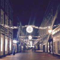 Photo taken at Downtown Kolding by Jelena M. on 12/22/2014