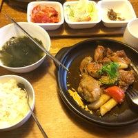 Photo taken at Eid (Korean Muslim Restaurant) by Trah A. on 2/5/2017