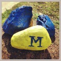 Photo taken at University of Michigan by Will S. on 9/21/2013