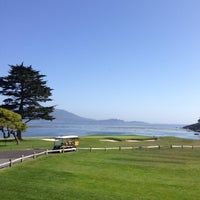 Photo taken at The Lodge at Pebble Beach by Nick W. on 5/1/2013