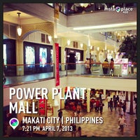 Photo taken at Power Plant Mall by JP S. on 4/7/2013