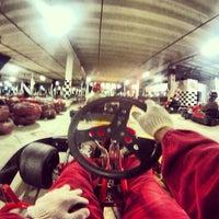 Photo taken at GKI Kart by Marcos S. on 2/22/2013