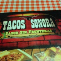 Photo taken at Tacos Sonora by Alina G. on 4/27/2013