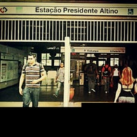 Photo taken at Estação Presidente Altino (CPTM) by Duh C. on 12/30/2012