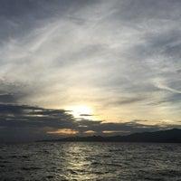 Photo taken at Pantai Candidasa by James R. on 1/22/2017