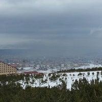 Photo taken at palandöken Dağı Erzurum Manzarasi by Rıfat G. on 12/29/2014