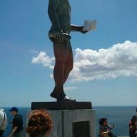 Photo taken at Brook's Statue by mafaldaq on 6/30/2013