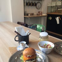 Photo taken at M EAT by Eva L. on 1/18/2015