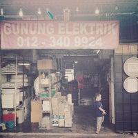 Photo taken at Kedai Elektrik Gunung by tujutuju on 9/20/2014