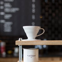 Photo taken at Vintage Coffee by Vintage Coffee on 9/10/2014