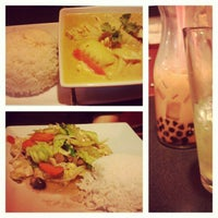 Photo taken at Rice and Spice Thai Cuisine by Alex G. on 3/4/2013
