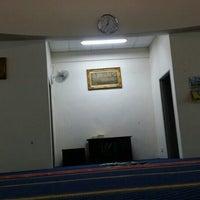 Photo taken at Masjid Abu Bakar As-Siddiq by Muhammad Taufiq A. on 2/26/2016