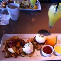 Photo taken at Milestones Grill & Bar by Brian L. on 9/30/2012