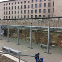 Photo taken at Topography of Terror by Brian L. on 4/2/2013