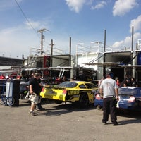 Photo taken at Nashville Fairgrounds Speedway by Janet H. on 10/5/2012