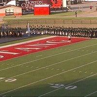 Photo taken at Bronco Football Stadium by Trevor L. on 7/24/2013