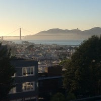 Photo taken at Russian Hill by Ed K. on 10/9/2017